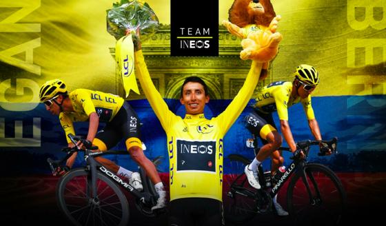 Áo hồng Egan Bernal không dự Tour de France và bỏ ngỏ Olympic ảnh 1