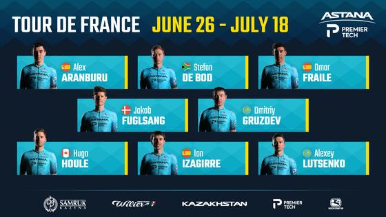 """Đội đua Astana-Premier Tech """"nội chiến thượng tầng"""" ngay trước Tour de France ảnh 3"""