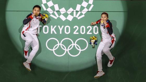 Greysia Polii/Apriyani Rahayu giành HCV đôi nữ cầu lông Olympic Tokyo