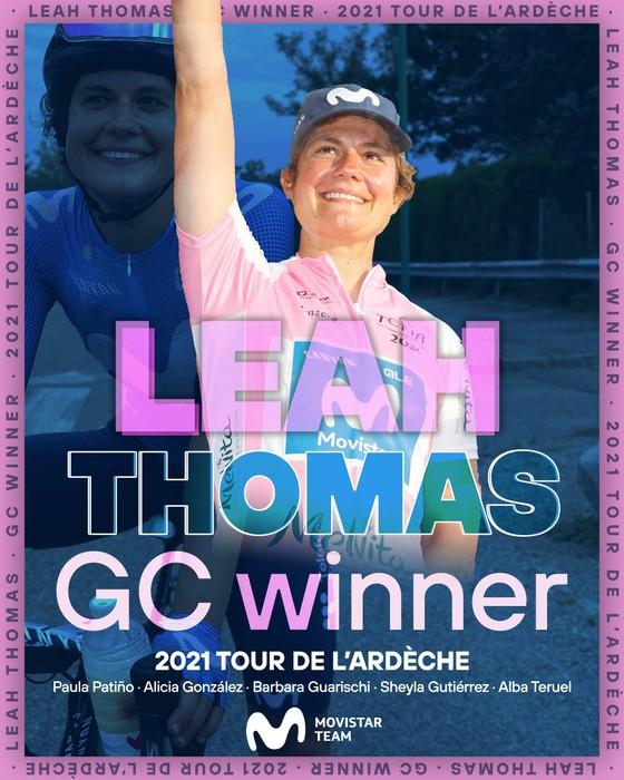 Leah Thomas thống trị giải xe đạp Tour de l'Ardeche 2021 ảnh 2