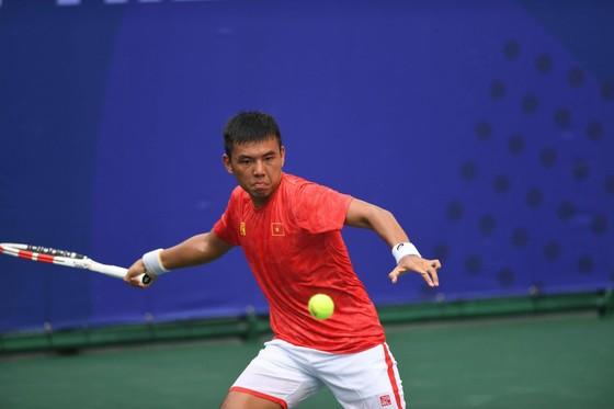 Đội tuyển Việt Nam chiến thắng vất vả ngày ra quân giải quần vợt Davis Cup ảnh 2
