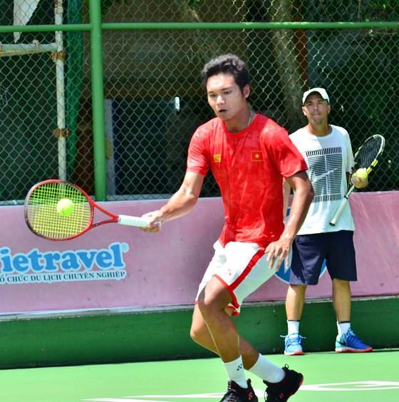 Đội tuyển Việt Nam giành vé thăng hạng lên nhóm 2 giải quần vợt Davis Cup ảnh 2