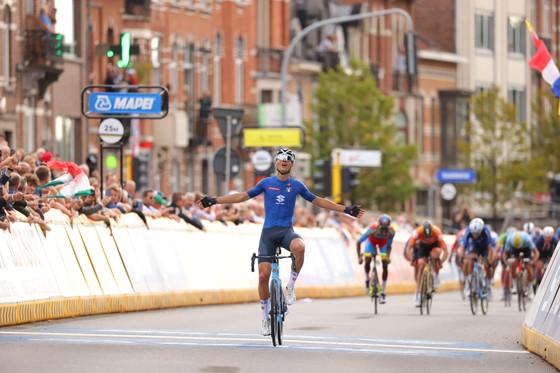 Filippo Baroncini hạnh phúc với chiến thắng