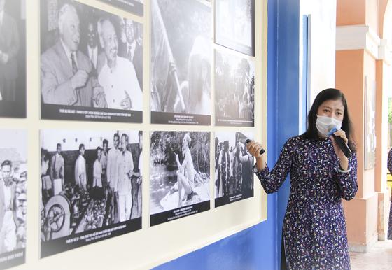 Triển lãm ''Hình ảnh và hình tượng Chủ tịch Hồ Chí Minh trong các tác phẩm điện ảnh'' ảnh 3