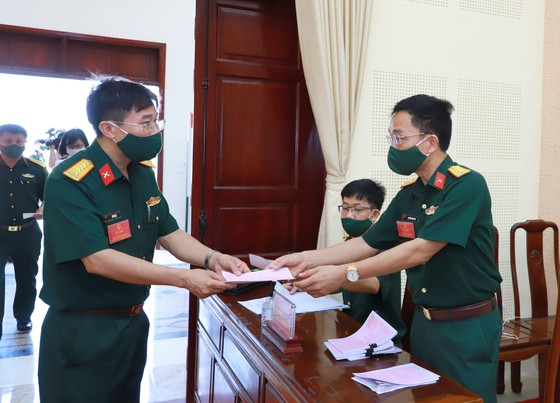 Bắc Ninh tổ chức bầu cử sớm cho hơn 3.200 cử tri ảnh 6