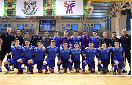 Đội tuyển U.20 futsal Việt Nam (ảnh: Quang Thắng)