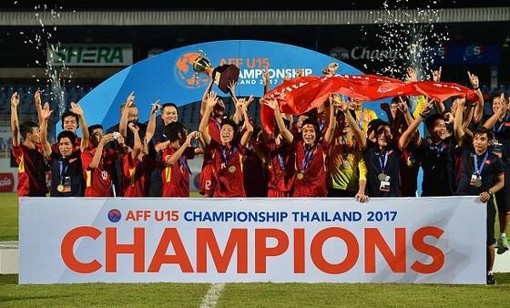 Việt Nam thắng Thái Lan ở giải U15 Đông Nam Á 2017: Cú hích từ sân chơi trẻ. ảnh 2