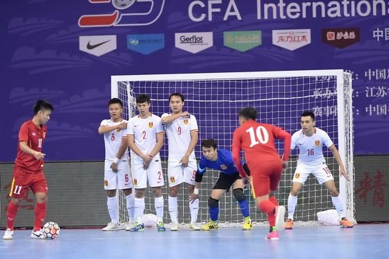 Đội tuyển futsal Việt Nam hướng đến tốp 4 tại AIMAG 5. Ảnh: QUANG THẮNG