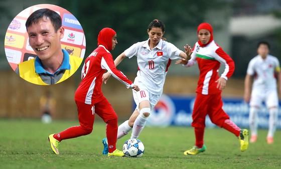 Đội tuyển nữ lọt vào VCK châu Á 2018 và vô địch SEA Games 29, là một trong những điểm nhấn ở năm qua. Ảnh: QUANG THẮNG