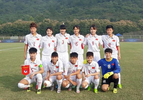 Đội tuyển U19 nữ Việt Nam. Ảnh: VFF