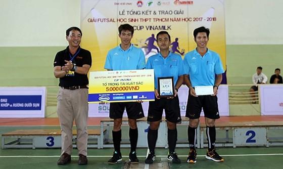 Giải futsal học sinh TPHCM 2017: Trường Năng khiếu TDTT vô địch ảnh 1