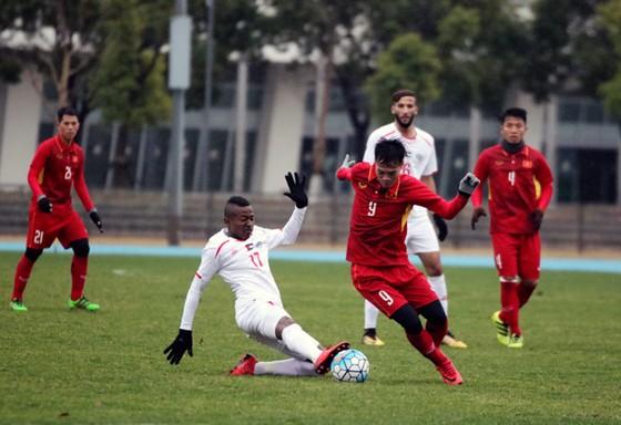 U23 Việt Nam hòa Palestin 1-1 vào chiều 4-1. Ảnh: Đoàn Nhật