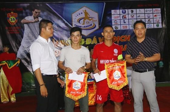 Đội Triệu Sơn vô địch giải bóng đá Thanh Hóa phía Nam 2018 ảnh 1