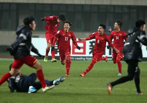 U23 Việt Nam - U23 Iraq 3-3 (pen.5-3): Việt Nam vào tốp 4 châu Á ảnh 2