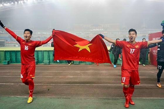 Đội U23 Việt Nam với chiến tịch lọt vào tốp 4 đội mạnh nhất châu Á. Ảnh: ANH KHOA
