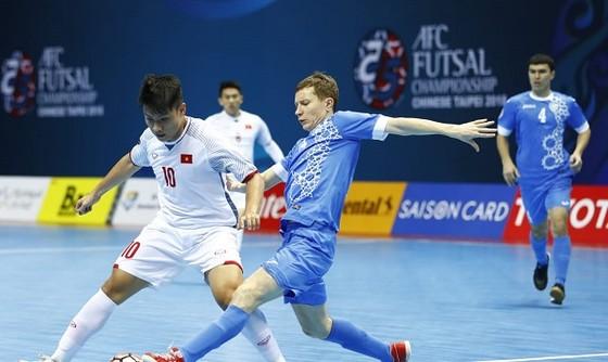 Đức Tùng, chân sút nổi bật nhất của ĐT futsal Việt Nam ở VCK châu Á 2018.