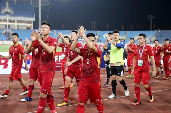 ĐT Việt Nam sẽ khởi đầu năm 2019 bằng VCK ASIAN Cup. Ảnh: MINH HOÀNG