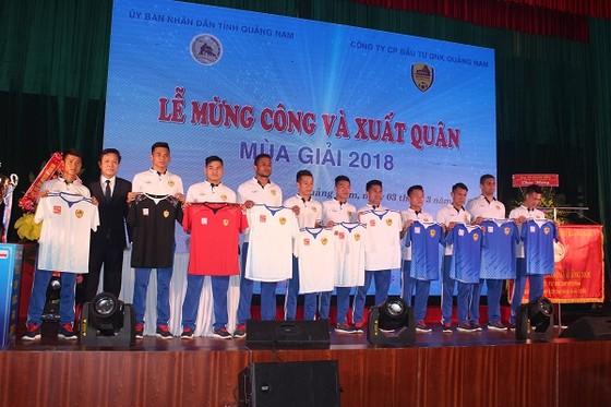 Đội Quảng Nam giới thiệu trang phục thi đấu mùa bóng 2018