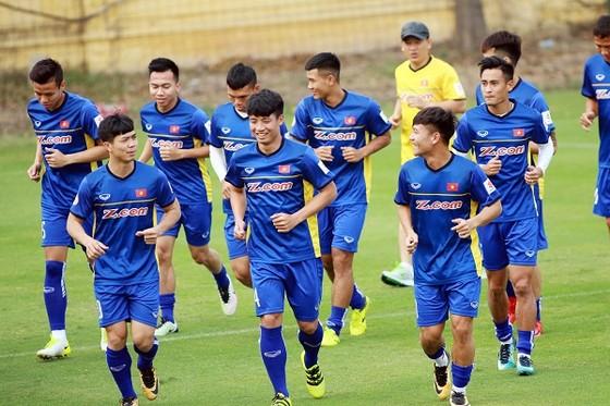 Đội tuyển Việt Nam với nhiều nét mới ở trận gặp Jordan tới đây. Ảnh: MINH HOÀNG