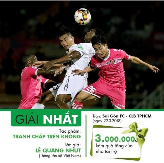 Trao giải cuộc thi ảnh Nuti Café V-League 2018 ảnh 3