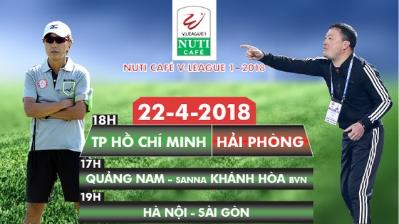 Vòng 6 Nuti Cafe V-League 2018: CLB TPHCM hướng vào tốp 3