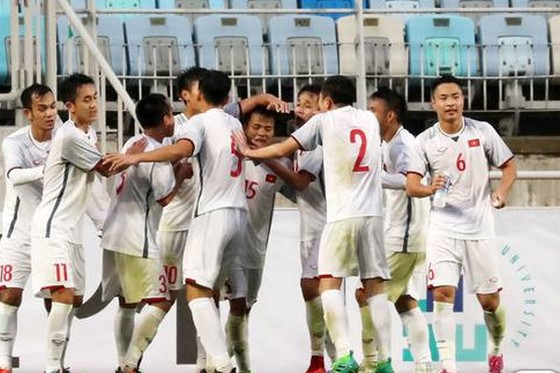 U19 Việt Nam chia điểm cùng đội chủ nhà ở Suwon JS Cup 2018 ảnh 1