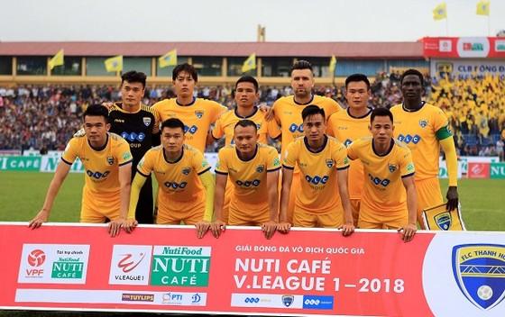 Đội Thanh Hóa đang sa sút ở V-League 2018. Ảnh: MINH HOÀNG
