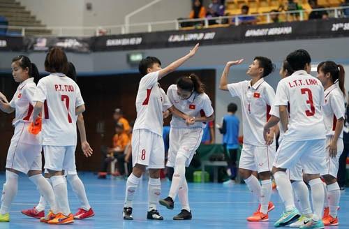 ĐT futsal nữ Việt Nam trước cơ hội lịch sử giành vé vào bán kết châu Á ảnh 1