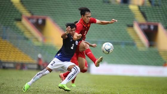 Văn Toàn và các đồng đội sẽ gặp Nhật Bản ở vòng bảng. Ảnh: DŨNG PHƯƠNG