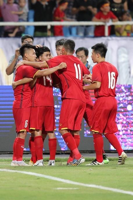 Giải bóng đá U23 quốc tế 2018: Việt Nam thắng Palestine 2-1 ảnh 6