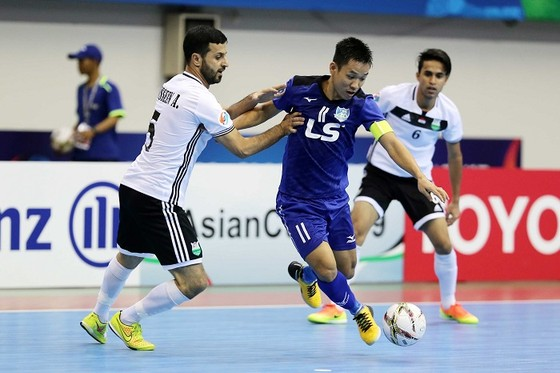 Thái Sơn Nam thua ngược đại diện Iraq tại giải châu Á 2018 ảnh 1