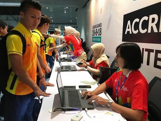 Đội Olympic Việt Nam đến Jakarta ảnh 2