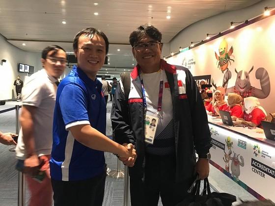 Đội Olympic Việt Nam đến Jakarta ảnh 4