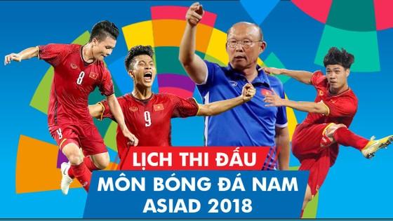 Lịch thi đấu của đội Olympic Việt Nam tại Asiad 2018
