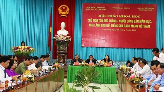 Chủ tịch Tôn Đức Thắng - Người cộng sản mẫu mực, nhà lãnh đạo nổi tiếng của cách mạng Việt Nam ảnh 2