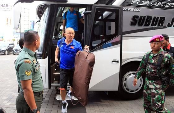 Đội Olympic Việt Nam đã đổi khách sạn vào chiều 21-8. Ảnh: DŨNG PHƯƠNG
