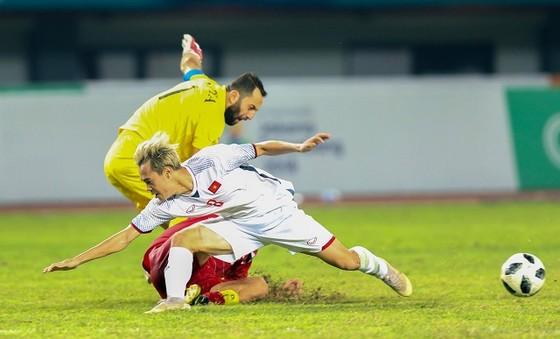 Văn Toàn tỏa sáng trong hai trận gần đây của đội Olympic Việt Nam. Ảnh: DŨNG PHƯƠNG
