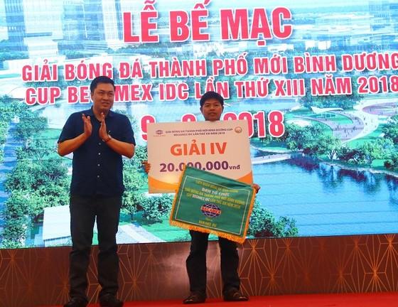 Bình Hòa-TPK lần thứ 3 liên tiếp vô địch giải bóng đá Thành phố mới Bình Dương ảnh 2
