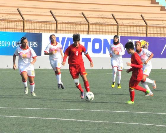 Đội U16 nữ Việt Nam thắng Bahrain 14-0 ảnh 1