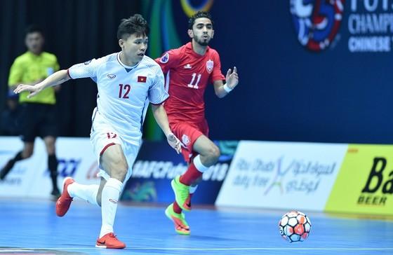 Đội tuyển futsal Việt Nam hướng đến mục tiêu vào chung kết giải Đông Nam Á 2018 .Ảnh: ANH TRẦN