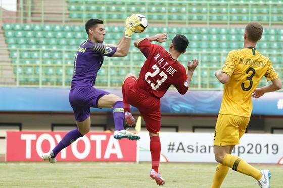 U19 Việt Nam vẫn chưa có điểm sau 2 trận đấu. Ảnh: Đoàn Nhật