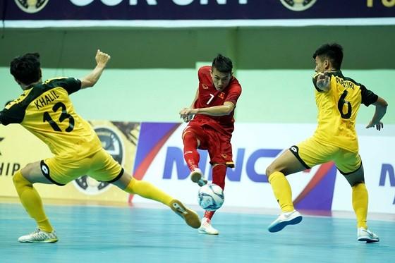 Đội tuyển futsal Việt Nam thắng Brunei 9-0 ở trận ra quân ảnh 2