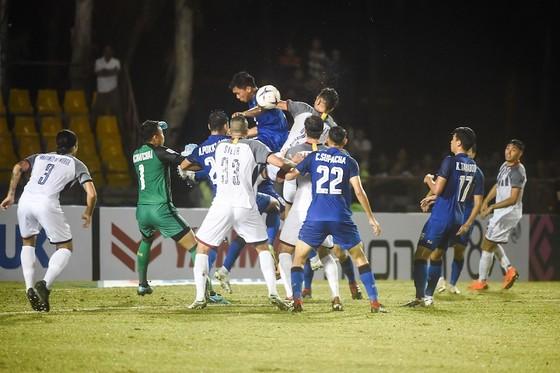 Philippines và Thái Lan bất phân thắng bại với tỷ số 0-0