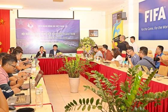 Toàn cảnh buổi gặp gỡ giới truyền thông sau Hội nghị. Ảnh: MINH HOÀNG