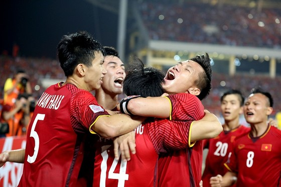 Đội tuyển Việt Nam hướng đến kết quả tốt tại Malaysia tối 11-12 tới đây. Ảnh: MINH HOÀNG