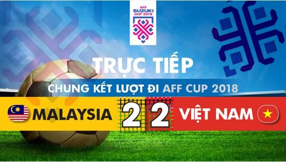 Malaysia - Việt Nam 2-2: Hai tiền vệ trung tâm lập công ảnh 1