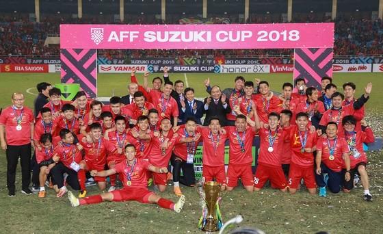 Đội Việt Nam nhập cuộc Asian Cup 2019 với vị thế của nhà vô địch Đông Nam Á. Ảnh: DŨNG PHƯƠNG