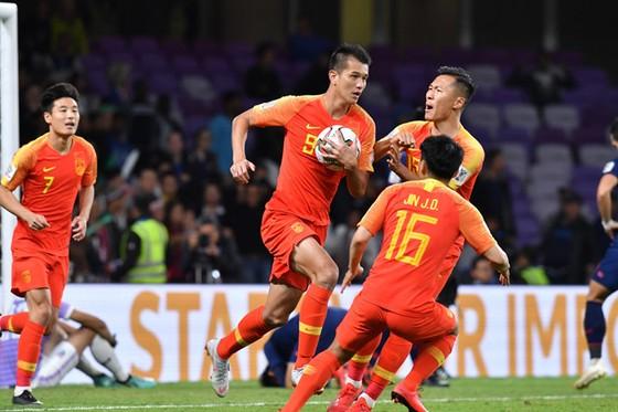 Trung Quốc giành vé thứ 2 vào Tứ kết sau đội Việt Nam. Ảnh: AFC