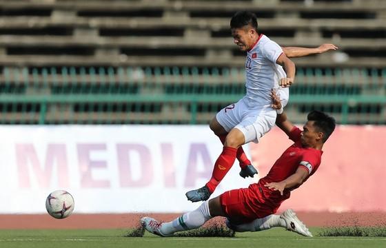 Việt Nam không thể vượt qua Indonesia, đành đi tranh hạng Ba. Ảnh: DŨNG PHƯƠNG
