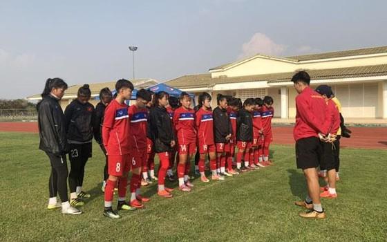 Đội U16 nữ Việt Nam đến Lào, sẵn sàng cho vòng loại châu Á 2019 ảnh 1